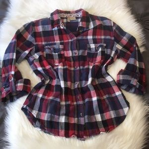 ♥️Perfect for Summer Flannel Top!